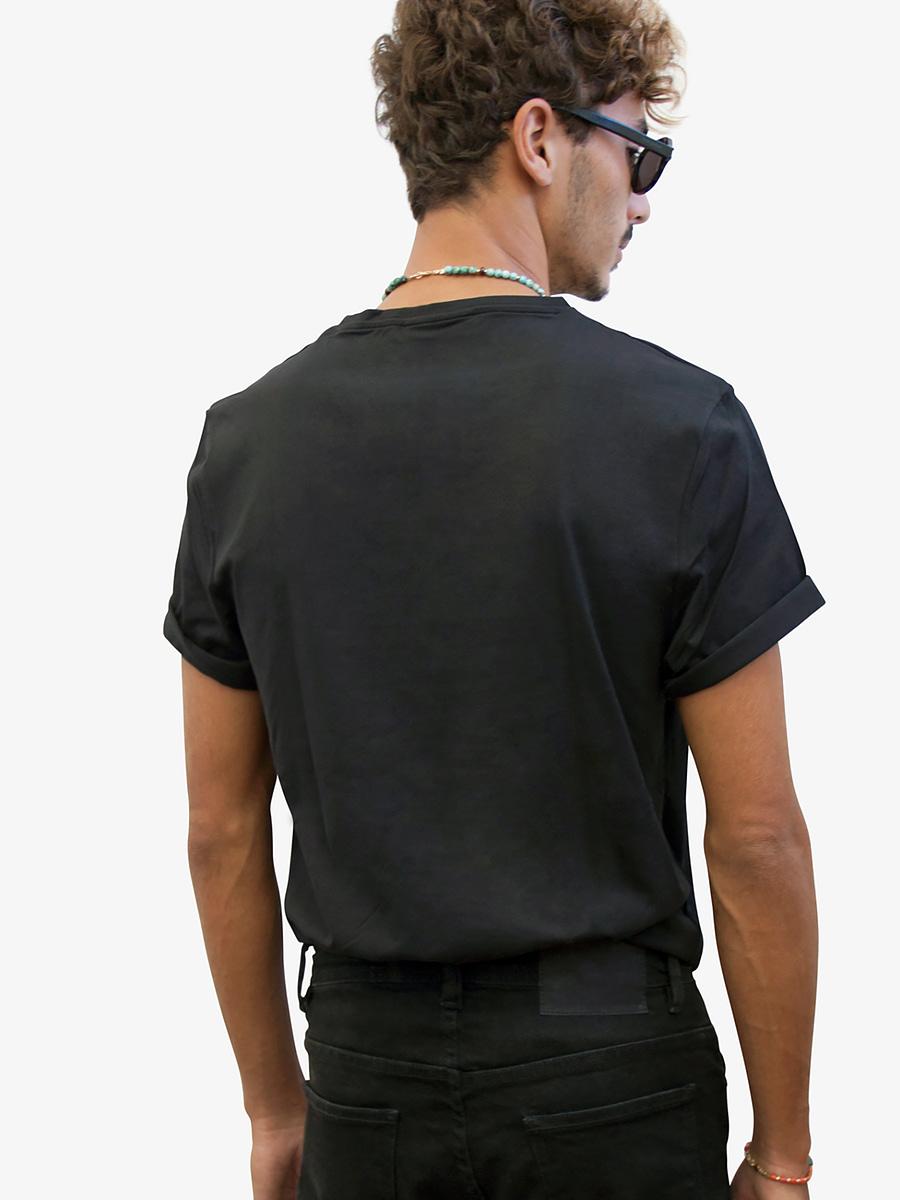 Vonberg Streetwear Brynat Heritage Premium Tee Scoop in Black