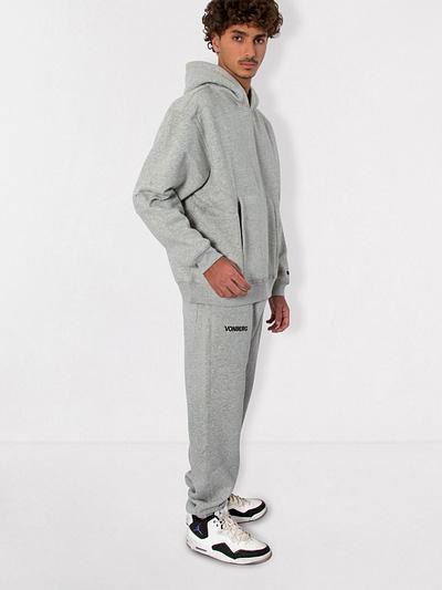 Vonberg Streetwear Signature Premium Sweatpants in Grey
