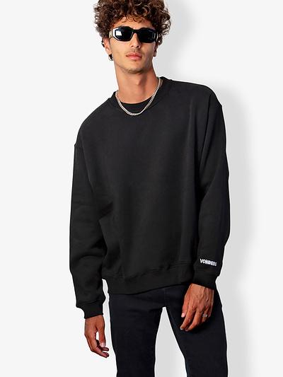 Vonberg Streetwear Signature Premium Sweatshirt in Black