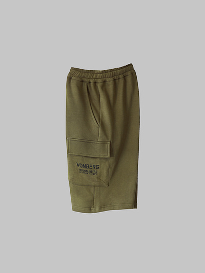 cargomax cargo premium short vonberg streetwear olive green