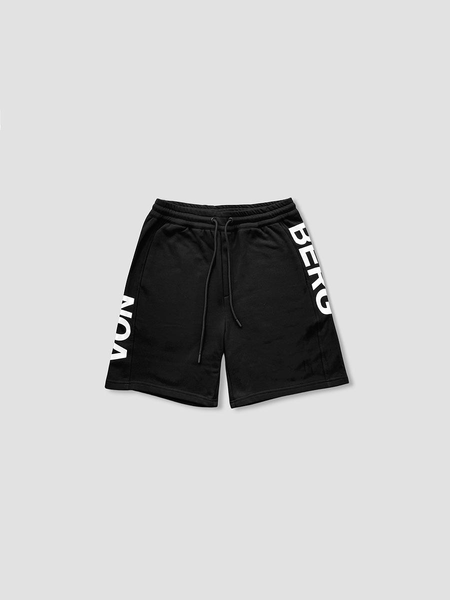 vonberg vertical short in black color streetwear