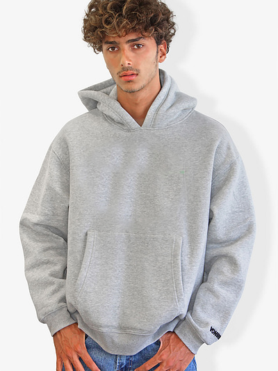 Vonberg Streetwear Signature Premium Hoodies in Grey