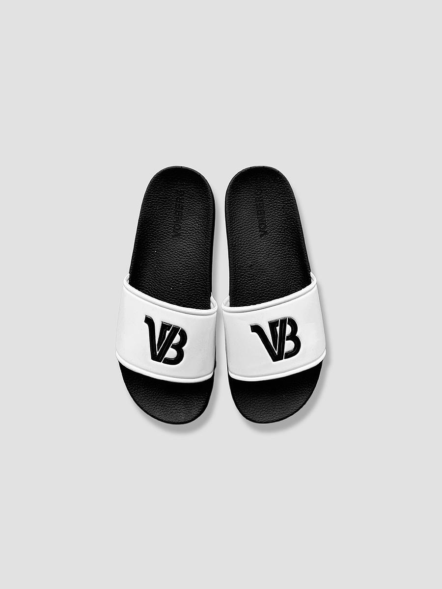 vonberg streetwear monogram motif slider for men and women