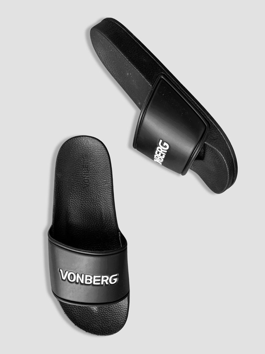 vonberg logo premium slide streetwear