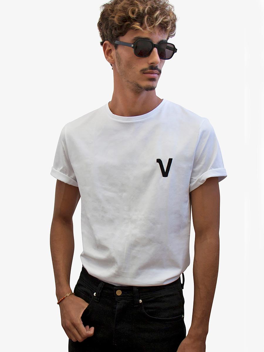 Vonberg Streetwear Brynat Heritage Premium Tee Scoop in White