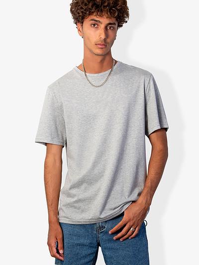 Vonberg Streetwear Bryant Premium Tee in Grey