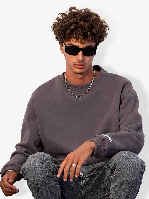 Vonberg Streetwear Dark Grey Premium Sweatshirt procudt-cata